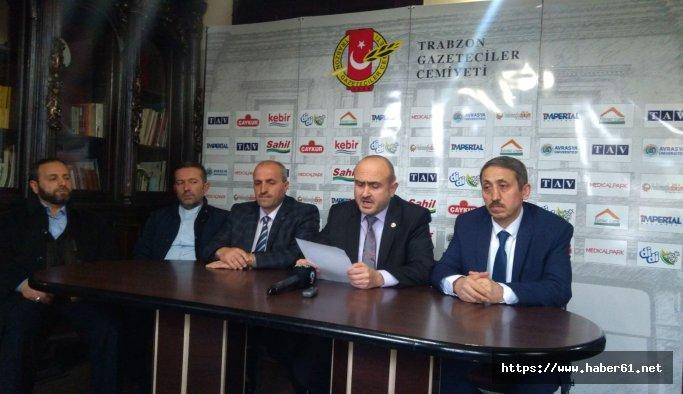 Trabzon'da din adamlarından Adnan Oktar'a suç duyurusu