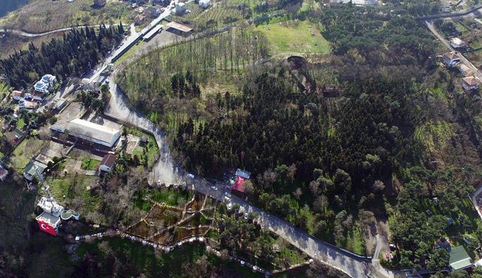 Trabzon'daki o alan halka açılıyor