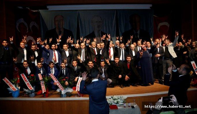 Bayburt'ta MHP'ye yeni üye katılımı