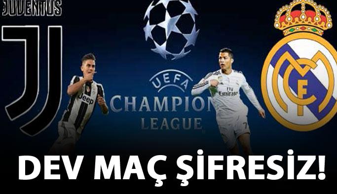 Juventus Real Madrid maçı hangi kanalda saat kaçta?