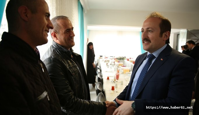 Bayburt Valisi Pehlivan, şehit aileleriyle bir araya geldi
