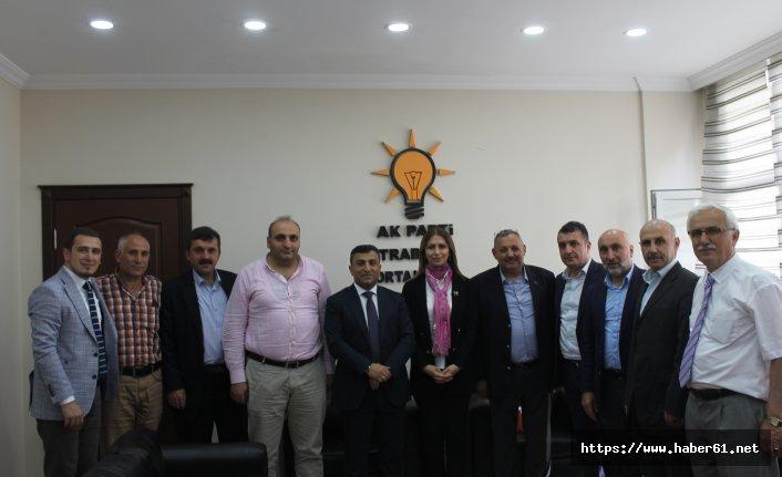 AK Parti Trabzon milletvekili aday adayı Hatice Öztürk: Her Zaman Çalışmalarıma Devam Edeceğim