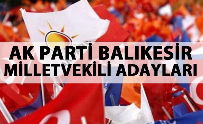 AK Parti Balıkesir milletvekili adayları listesi kimlerden oluştu?