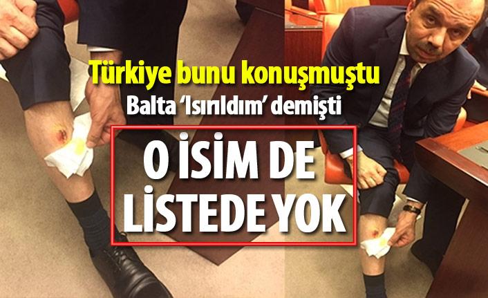 Muhammet Balta'yı ısırdığı iddia edilen CHP'li Eren Erdem liste dışı
