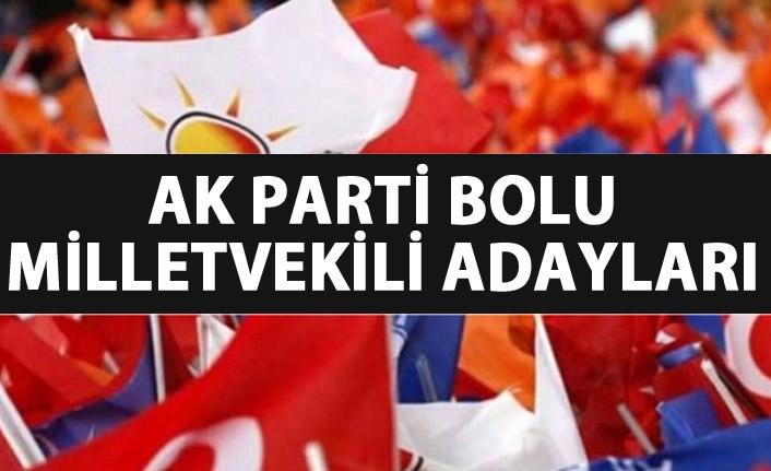 AK Parti Bolu milletvekili adayları listesinde hangi isimler var?