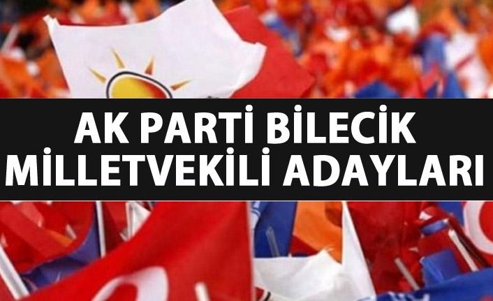 Bilecik AK Parti milletvekili adayları listesi...