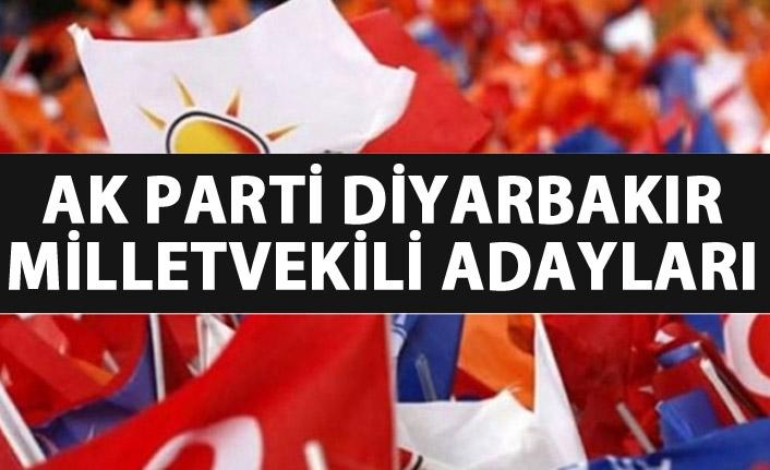 Diyarbakır AK Parti milletvekili adayları listesi...