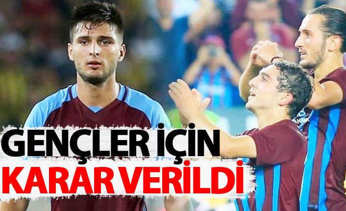 Trabzonspor'da gençlere teklif yağıyor ama...