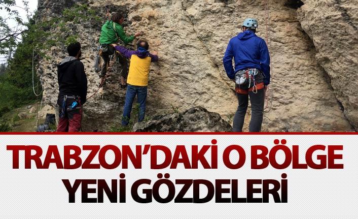 Trabzon'daki o bölge tırmanışçıların yeni gözdesi