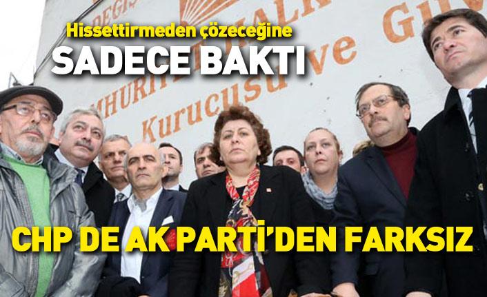 CHP Trabzon da AK Parti'den farksız