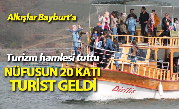 Bayburt'ta turizm hamlesi işe yaradı, nüfusun 20 katı turist geldi