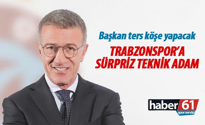 Trabzonspor'a sürpriz teknik adam!