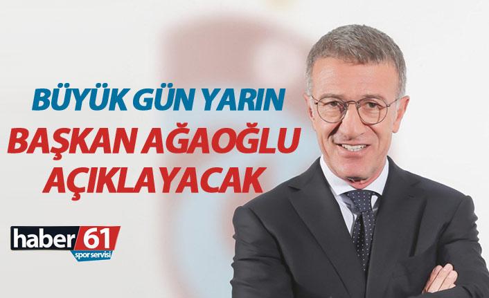 Trabzonspor Başkanı Ağaoğlu basın toplantısı düzenliyor