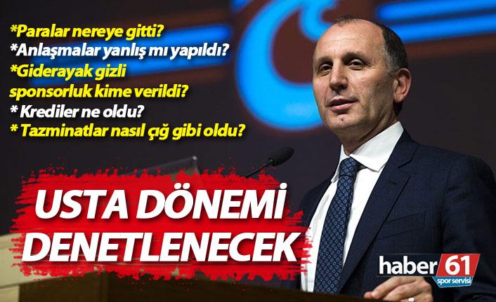 Trabzonspor'da Muharrem Usta dönemi incelenecek