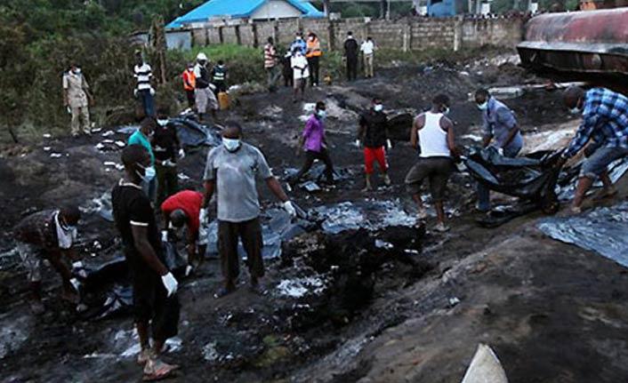 Feci kaza: En az 20 kişi yanarak can verdi