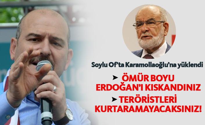 Soylu'dan Karamollaoğlu'na; Erdoğan'ı ömür boyu kıskandınız!