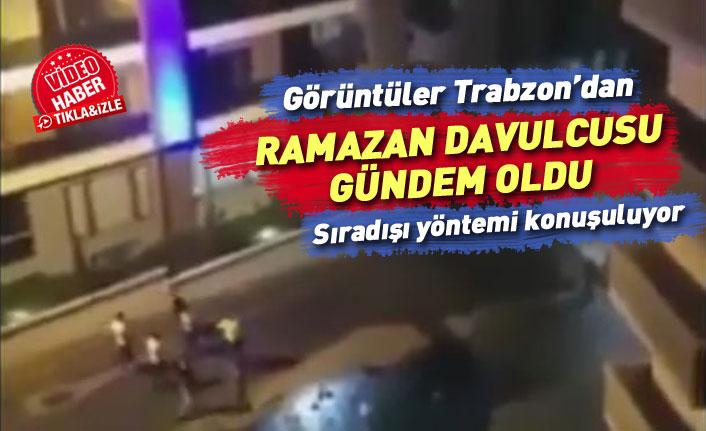 Trabzon Yıldız Tilbe şarkısı söyleyen Ramazan davulcusunu konuşuyor!