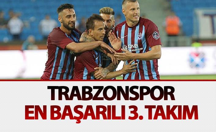 Trabzonspor en başarılı 3. takım