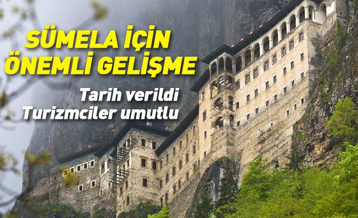 Sümela Manastırı'nda önemli gelişme! Açılış için tarih verildi