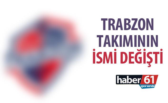 Trabzon takımında kurumsal değişim! İsmi ve logosu değişti
