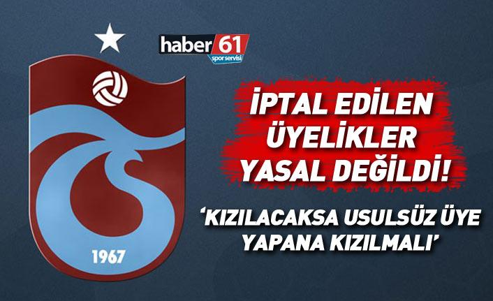 Trabzonspor'da iptal edilen üyelikler usulsüz yapılmıştı, düzeltilecek