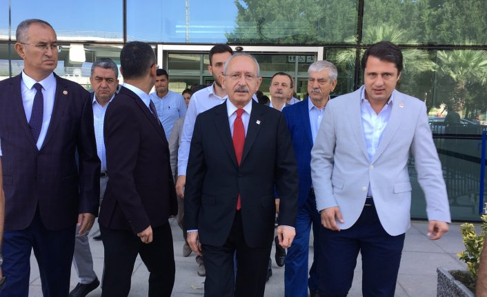 CHP lideri Kılıçdaroğlu Manisa'ya gitti