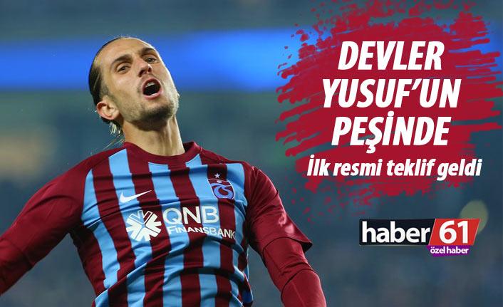 Devler Trabzonsporlu Yusuf'un peşinde! İlk resmi teklif yapıldı