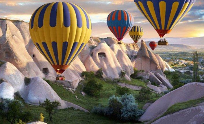 Kapadokya'da sıcak hava balonları bayramda uçamadı