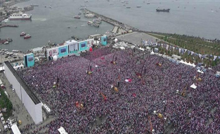 AK Parti'nin İstanbul mitingi başladı!