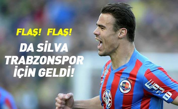 Flaş! Da Silva Trabzonspor için Türkiye'de