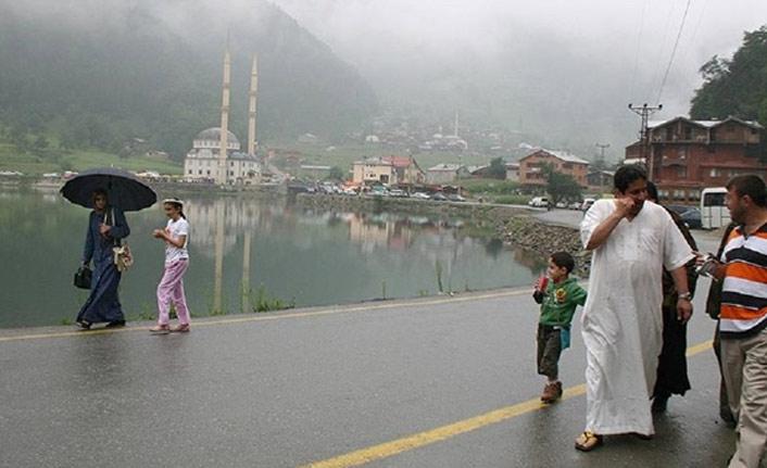 Trabzon'a Körfez'den turist yağıyor