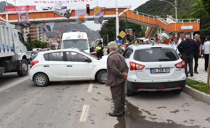 Gümüşhane Trabzon karayolunda kaza