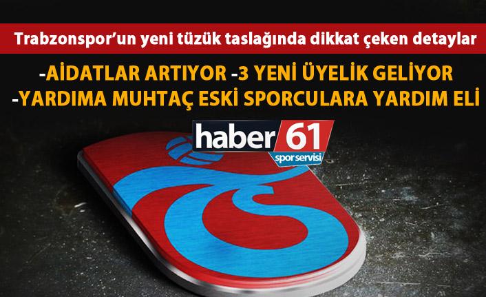 Trabzonspor'un yeni tüzüğünde dikkat çeken detaylar