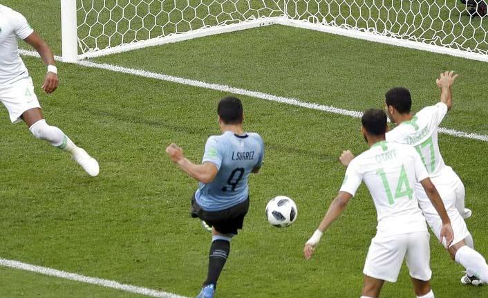 Uruguay Suarez'le kazandı