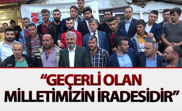 """Adnan Günnar: """"Geçerli olan milletimizin iradesidir"""""""