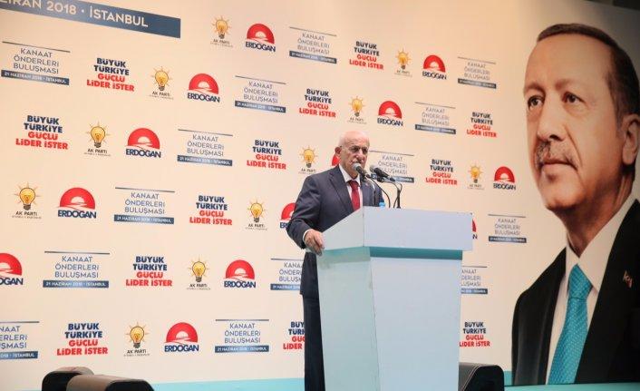 TBMM Başkanı Kahraman, Erdoğan'a destek istedi