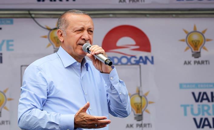 Cumhurbaşkanı Erdoğan'dan İnce'ye YSK cevabı