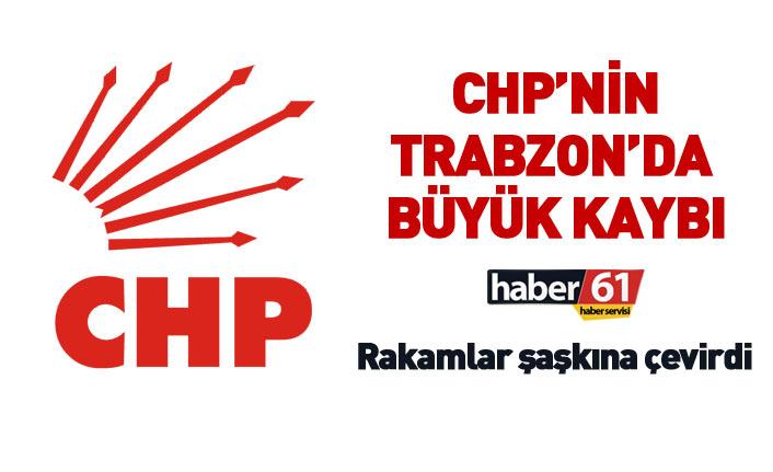 CHP'nin Trabzon'da büyük kaybı! Oy rakamları şaşkına çevirdi