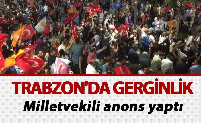 Trabzon'da seçim gerginliği