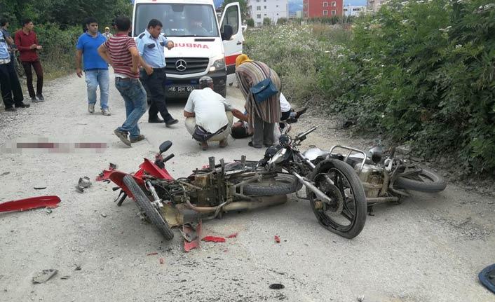 Feci motosiklet kazası: 1 ölü, 1 yaralı