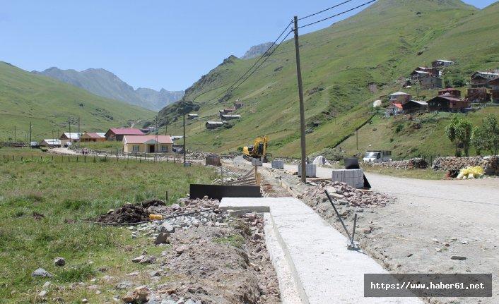 Anzer'de plansız betonlamaya muhtar engeli