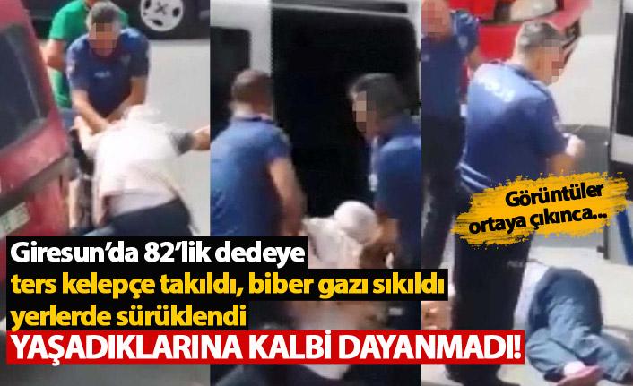 Yaşlı adama şiddet uygulayarak ölümüne neden olan polisler açığa alındı!