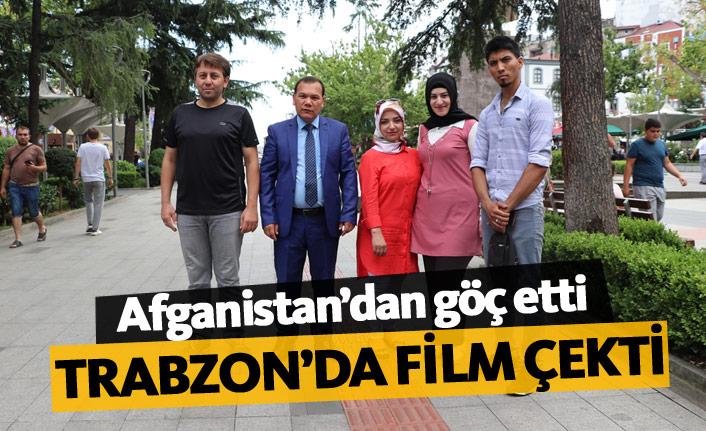 Afgan yönetmen Trabzon'da film çekti