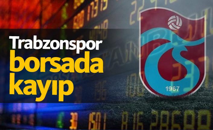 Trabzonspor borsada kaybettirdi