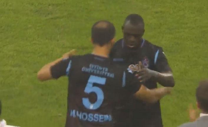 Hosseini ve Zargo ilk kez Trabzonspor'la maça çıktı
