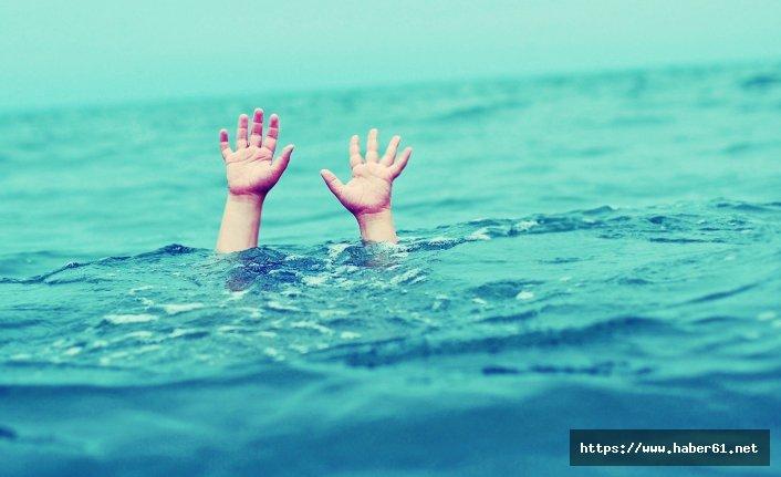 Irmağa giren 9 yaşındaki çocuk boğuldu