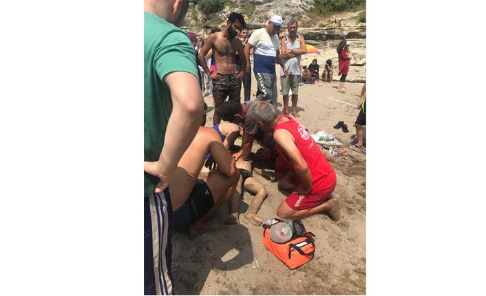 Kandıra Sahili'nde boğulma vakası