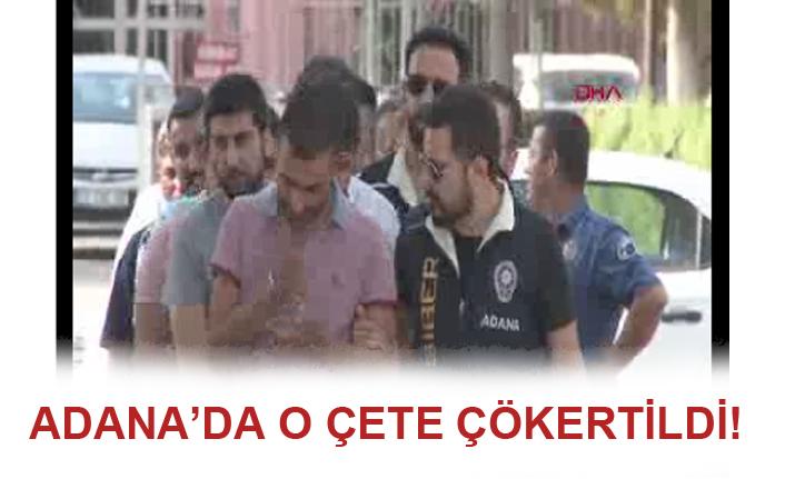 Adana'da bahis çetesi çökertildi!