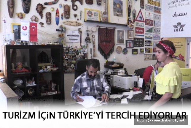 Filistinli Turistler Türkiye'yi tercih ediyor