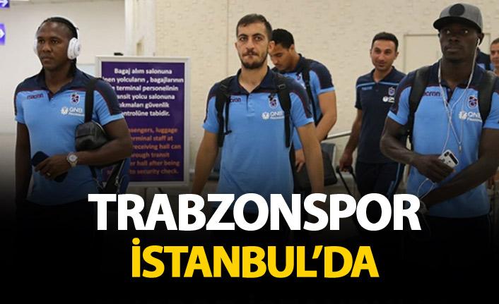 Trabzonspor kafilesi İstanbul'da!